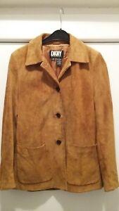 DKNY Donna Karan New York leather jacket vintage