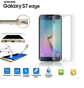 Genuine Full Curved 3D Tempered Glass  For SAMSUNG  Galaxy S6 edge &  s7 edge