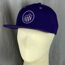 Adobe Analytics Brand Embroidered Logo One Size Snapback Hat Software New