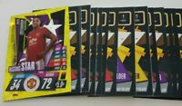 2020/21 Match Attax UEFA Champions - Lot of 20 cards inc Rising Star Greenwood