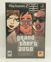 Grand Theft Auto The Trilogy (Sony PlayStation 2 PS2) New, Factory Sealed