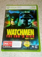 WATCHMEN The End is Nigh - PARTS 1 And 2 - XBOX 360 PAL Version