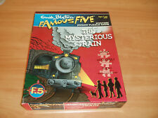"""Vintage Famous Five """"The Mysterious Train"""" mystery Puzzle."""