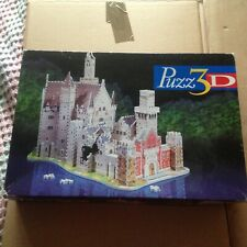 Puzz 3D Jigsaw Puzzle Neuschwanstein Alpine Castle 1000 Pieces Hasbro
