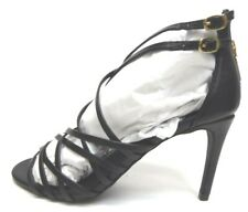 Steve Madden Size 8.5 Black Strappy Sandals Heels New Womens Shoes