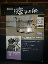 """Pro Concepts 2-Door Dog Crate Model 100 (up to 10lbs)19"""" Folding 19L x 12W x 14H"""