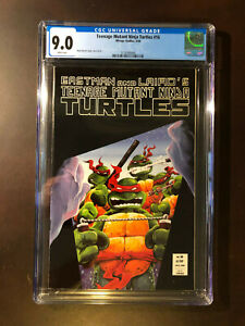 Teenage Mutant Ninja Turtles #16 CGC 9.0 WP VF/NM Mirage