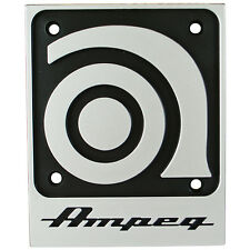 "Genuine Ampeg Replacement 3"" x 4"" Square Logo"