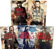 Hell on Wheels: The Complete TV Series Seasons 1-5 DVD NEW Season 1 2 3 4 5