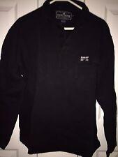 Men's Ralph Lauren Sweat Shirt Black Medium Size