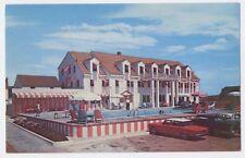 NAGS HEAD NC old Wilbur Wright Inn Motel 1960 Corvair OBX postcard
