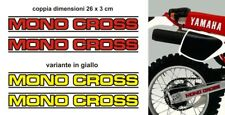 Kit Adesivi Mono Cross Yamaha XT TT 600 forcellone monocross forcella