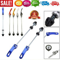 Pair Bicycle Bike Cycling Wheel Hub Skewers Bolt Quick Release Lever Axle Tools