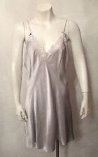 Vintage Gold Label 100% SILK Victoria's Secret Chemise BabyDoll Nightgown Large