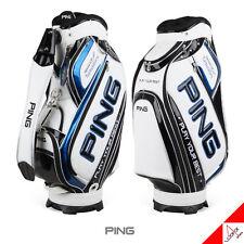 "Ping 2019 G Pro Mens Sporty Caddie Bag Cart 10"" 7way 4kg/ PVC Pu-authentic White"