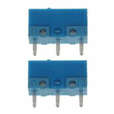 f3ac6bc9cfc 2Pcs HUANO Blue Dot Blue Shell 0.74N Mouse Micro Switch 50 Millions Lifetime