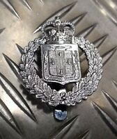 "Genuine Jamaica Constabulary ""Utroque Serve"" Decorative Dress Hat Badge  - NEW"