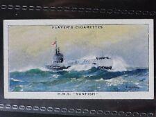 Single: No.15 HMS SUNFISH - MODERN NAVAL CRAFT - John Player 1939