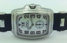 Mens Dubey & Schaldenbrand Aquadyn Big Date Stainless Steel Automatic Watch
