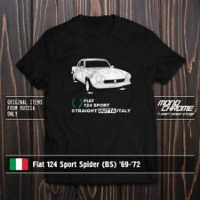 T-shirt Fiat 124 Sport Spider (BS) '69-'72