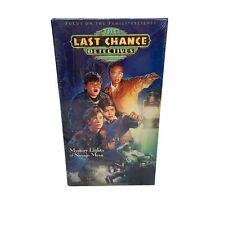 The Last Chance Detectives Mystery Lights Of The Navajo Mesa VHS