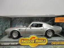 ERTL American Muscle '73 FIREBIRD TRANS AM Silver 1973 1:18 scale