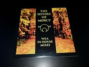 the Sisters Of Mercy - wea in house mixes-  lp' - coloured