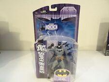NEW DC Superheroes Select Sculpt Batman Action Figure (2007) Mattel Black & Grey