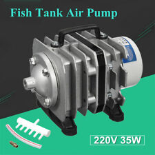220V 35W Oxygen Air Pump Electric Magnetic Aquarium Commercial Pond Fish Tank