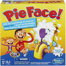 2016 Hot Toy! Pie Face Board Game Family Adult Kids Children Funny Rocket Games