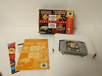Namco Museum Nintendo 64 N64 Complete Excellent Authentic