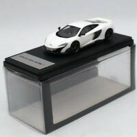 1:43 TSM Model 2015 Mclaren 675LT Silica White Resin Limited Edition Collection