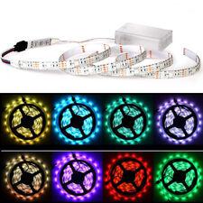 LED Strip Lights RGB 5V + Battery Box + Controller Battery Powered Multi-color