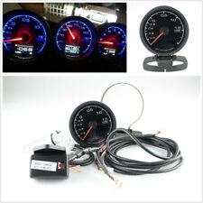 "62mm/2.5"" Round Car SUV 7 Lights Color Turbo Boost Gauge With Voltage Meter Kit"
