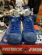Nike Air Jordan 5 V Blue Suede Size 8.5 Game Royal Black 136027-401 beaters