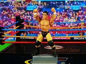 MICRO AGGRESSION Wrestling Wrestler Figure Cake Topper Randy Orton K1041 A