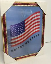 "World Trade Center Picture Framed 3D Twin Towers 13.5"" X 10.5"" New #6"