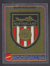 Panini - Football 84 - # 280 Sunderland Foil Badge