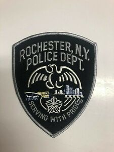 Rochester New York Police Patch - Subdued Black