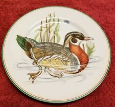 Fitz and Floyd Inc. Wood Duck Canard Sauvage Decorative Plate Wood Duck 101