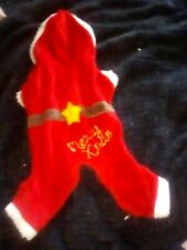Cute Small Dog/Cat Christmas Red Santa Suit For Your Pets Pet Fashion Accessory