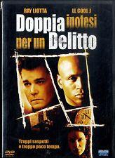 DOPPIA IPOTESI PER UN DELITTO Ray Liotta LL Cool J DVD FILM Usato