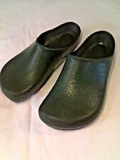 ~VINTAGE~ *BIRKENSTOCK* Women's Green Rubber Clogs Size 7 1/2
