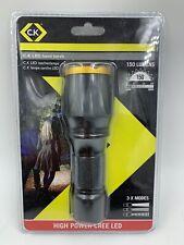 CK CREE LED Linterna De Mano flash de luz de 150 lúmenes 3 modos T9520
