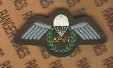 UK British Army Airborne Parachute wing APJI Jump Instructor patch