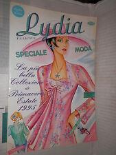 LYDIA FASHION Betagraf 1987 libro manuale saggistica moda stilista di