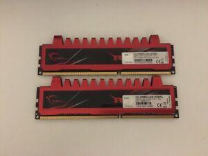 KIT MEMORIE RAM 2 x 4 GB = 8 GB DDR3 GSKILL RIPJAWS PC3 10600U 1333 MHz 240 PIN