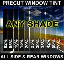 99/% UV 50X STRONGER PRECUT WINDOW TINT FOR JEEP CHEROKEE 4DR 97-01
