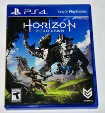 Replacement Case (NO GAME) Horizon Zero Dawn Playstation 4 PS4 Box