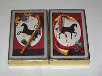 VINTAGE  2    DECKS PINOCHLE IMPERIAL PLAYING CARDS